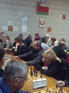 Участники соревнований по шахматам