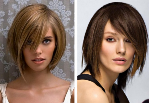 модные-прически-с-челкой-для-волос-средней-длины-2016