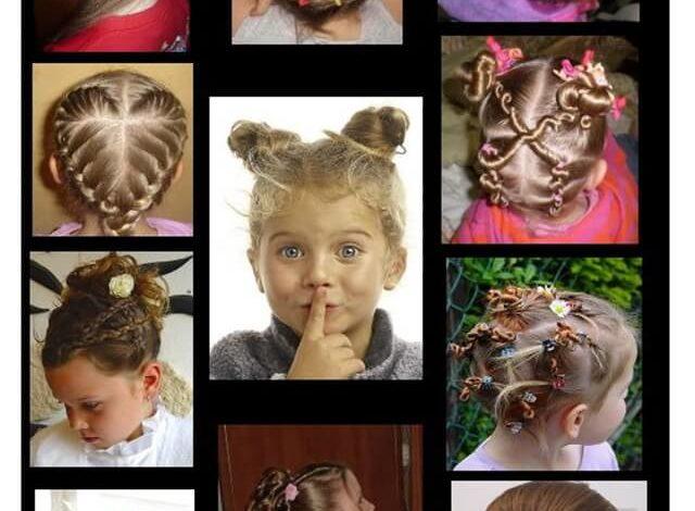 Детские плетения