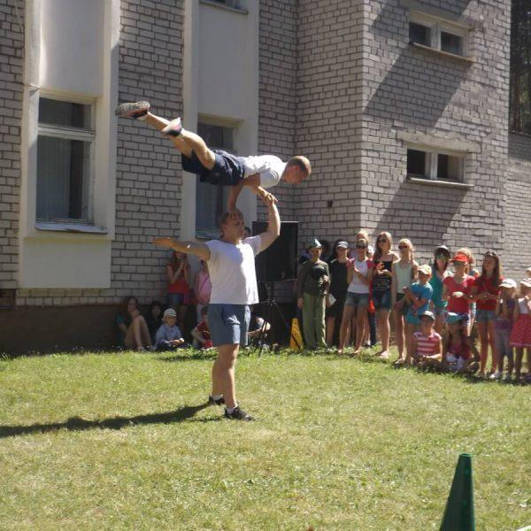 Отдых в лагере Полочанка
