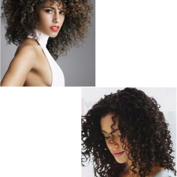 Современная завивка волос