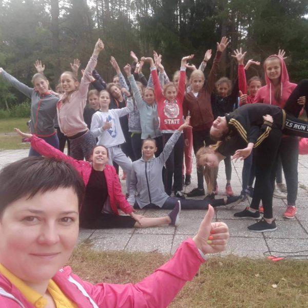 Отряд лагеря Полочанка