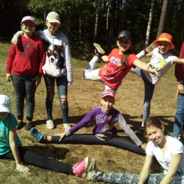 """дети в лагере """"Полочанка"""""""
