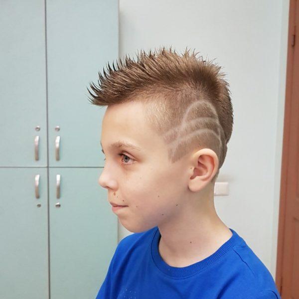 Детская стрижка и укладка в салоне Минска