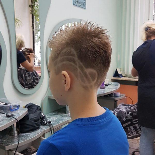 Стрижка с рельефом для мальчика в Минске