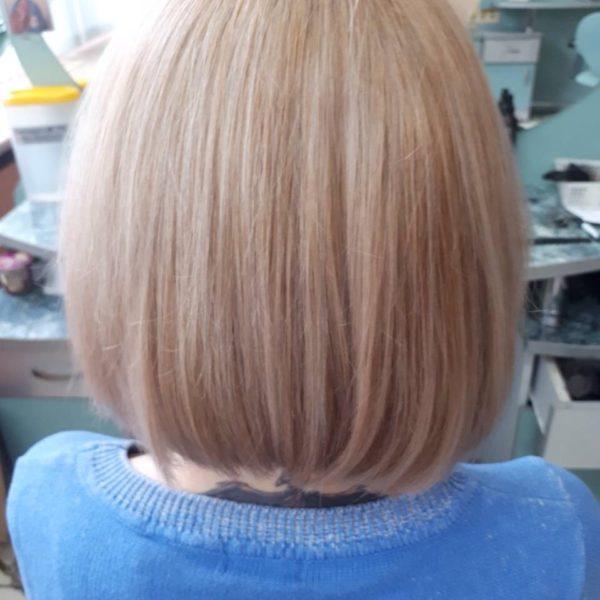 окраска корней и тонирование волоса в Минске