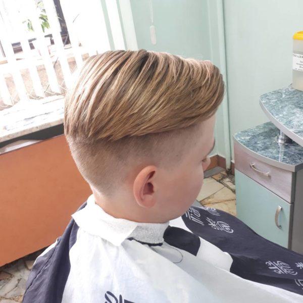 Стрижка и укладка для мальчика в Минске