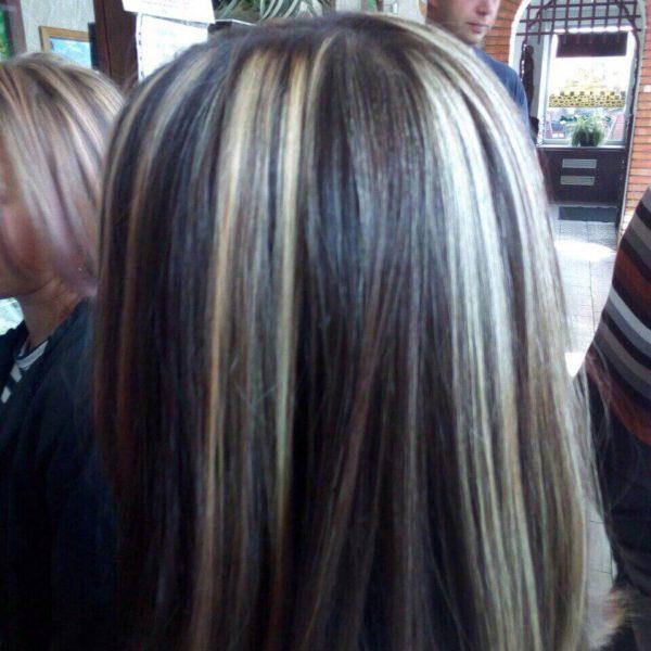 Частичное блондирование в Минске