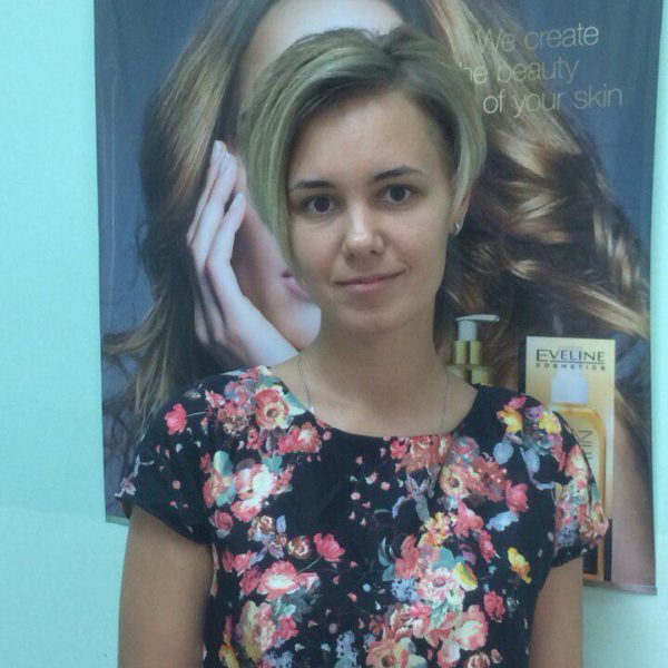 Асимметричная женская стрижка в Минске