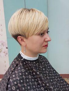 Женская короткая стрижка в Минске