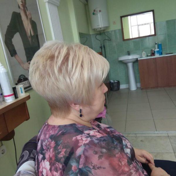 Окрашивание волос и укладка в Минске