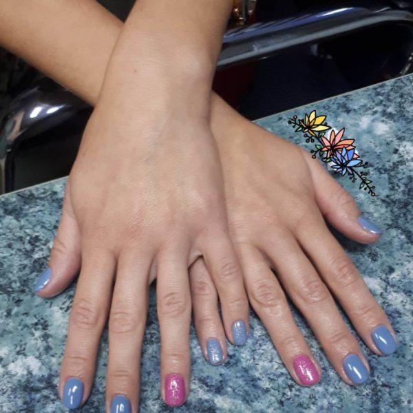 Долговременное покрытие ногтей в Минске