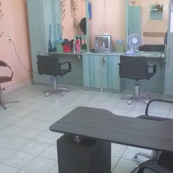 зал парикмахерской 129 Минск