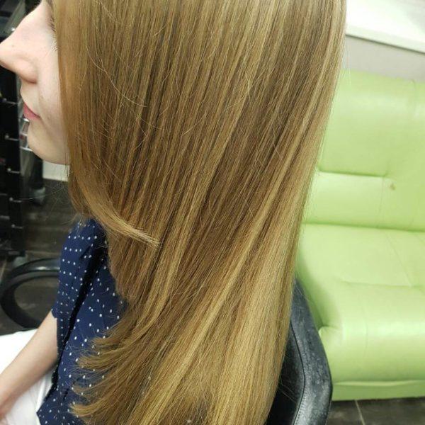 Стрижка на длинный волос в Минске